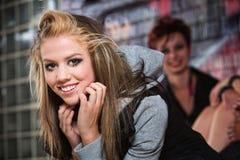 Beautiful Smiling Teen Stock Images