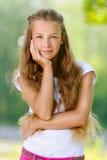 Beautiful smiling teenage girl Stock Photography