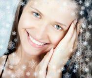 Beautiful Smiling Woman Stock Image