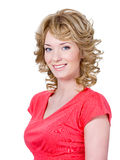Beautiful smiling woman Royalty Free Stock Photos