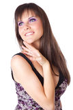A beautiful smiling woman Royalty Free Stock Photos