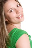 Beautiful Smiling Woman Stock Photos