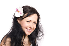 Beautiful smiling woman Stock Photography