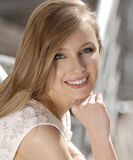 Beautiful Smiling Woman Royalty Free Stock Photo