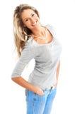 Beautiful smiling woman Stock Photo