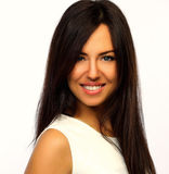 Beautiful smiling woman portrait Royalty Free Stock Photography