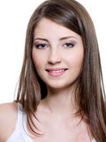 Beautiful smiling young woman Royalty Free Stock Images