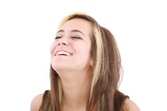 Beautiful smiling young woman Royalty Free Stock Photo