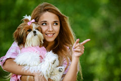Beautiful smiling young woman Stock Image