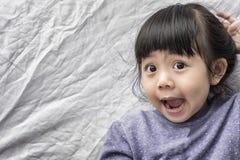 Beautiful Smilling Cute Asia Girl. Stock Images