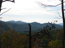 Beautiful Smokey Mountains in the fall. Stock Image