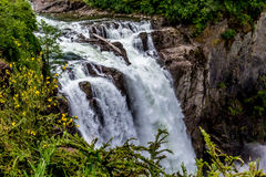 The Beautiful Snoqualmie Waterfall Royalty Free Stock Photo