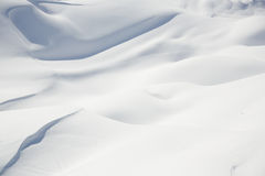 Beautiful snow covered hill detail, winter landscape Royalty Free Stock Photo