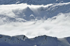 Beautiful Snow Covered Mountain, Austria Royalty Free Stock Photos