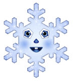 A beautiful snowflake Royalty Free Stock Photography