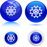 Beautiful snowflake. Royalty Free Stock Photos