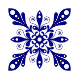 Beautiful snowflake vector design Royalty Free Stock Photo