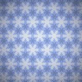 Beautiful snowflakes pattern. Royalty Free Stock Image
