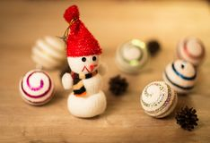 Beautiful snowman Royalty Free Stock Image