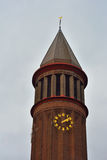 Beautiful sober protestant tower Royalty Free Stock Images