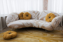 Beautiful sofa Stock Photo