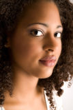 Beautiful soft african portrait Stock Photo