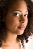 Beautiful soft african portrait stock photo