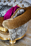 Beautiful soft cushions Royalty Free Stock Photo