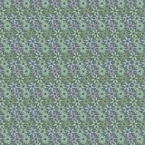 Vector seamless pattern of flowers in soft green, blue and Lilac stock illustration