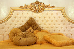 Beautiful and soft pillows Royalty Free Stock Photo