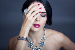Beautiful sophisticated woman Royalty Free Stock Photo