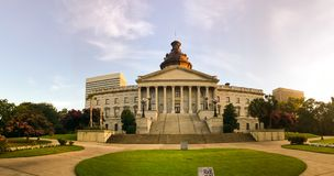 The South Carolina Statehouse royalty free stock images