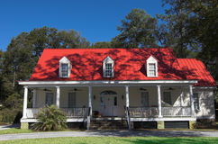 Beautiful southern home Stock Photography