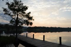 Sunrise in the South royalty free stock image