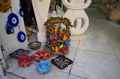 Beautiful souvenirs in  Athens,Greece. Stock Photography