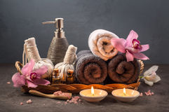 Beautiful SPA composition Stock Images
