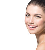 Beautiful Spa Girl Face Stock Photos