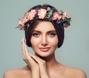 Free Beautiful Spa Model Woman With Healthy Skin Stock Photography - 103314762