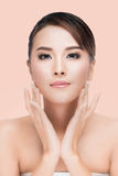 Beautiful Spa Perfect Fresh Skin Youth and Skin Care Concept Stock Photos