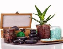 Beautiful spa setting Stock Photography