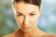Beautiful spa vrouw Stock Foto