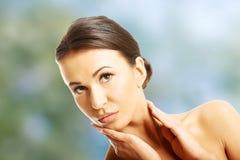 Beautiful spa vrouw Stock Fotografie