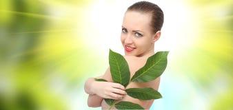 Beautiful spa woman Stock Photos