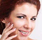 Beautiful Spa Woman Royalty Free Stock Photography