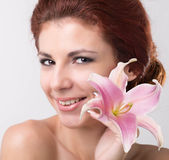 Beautiful Spa Woman Royalty Free Stock Images