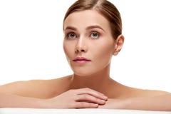 Beautiful spa woman Royalty Free Stock Photo