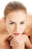 Beautiful spa woman Royalty Free Stock Photography