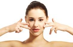 Beautiful spa woman Stock Photo