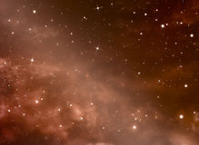 Beautiful space background Royalty Free Stock Photos