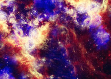 Beautiful space nebula Stock Photography
